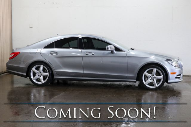 2014 Mercedes-Benz CLS550 4Matic AWD Executive Car w/Navigation, Heated/Cooled Seats, Premium Audio & AMG Wheels in Eau Claire, Wisconsin 54703
