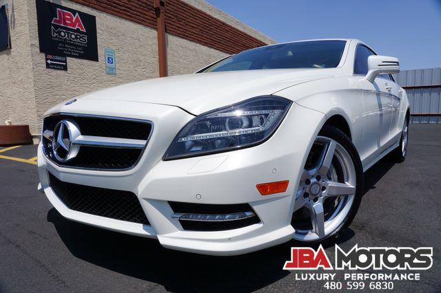 2014 Mercedes-Benz CLS550 CLS Class 550 Sedan AMG Sport Pack ~ Diamond White in Mesa, AZ 85202