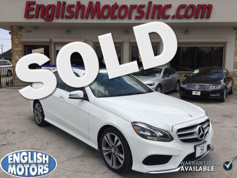 2014 Mercedes-Benz E 350 Sport in Brownsville, TX
