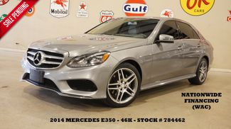2014 Mercedes-Benz E 350 Sport Sedan P1 PKG,ROOF,NAV,BACK-UP,HTD LTH,46K in Carrollton, TX 75006