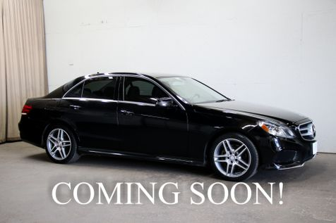 2014 Mercedes-Benz E350 Sport 4Matic AWD w/Navigation, Keyless Go, Heated Seats, Bluetooth Audio & 18
