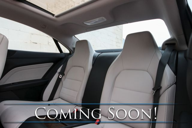 """2014 Mercedes-Benz E350 Sport 4MATIC AWD Coupe w/Panorama Roof, Nav, Heated/Cooled Seats, Premium Audio and 19"""" Wheels in Eau Claire, Wisconsin 54703"""
