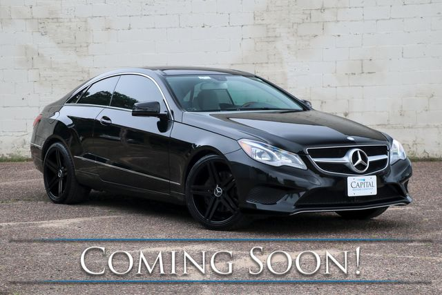 """2014 Mercedes-Benz E350 Sport 4MATIC AWD Coupe w/Panorama Roof, Nav, Heated/Cooled Seats, Premium Audio and 19"""" Wheels"""