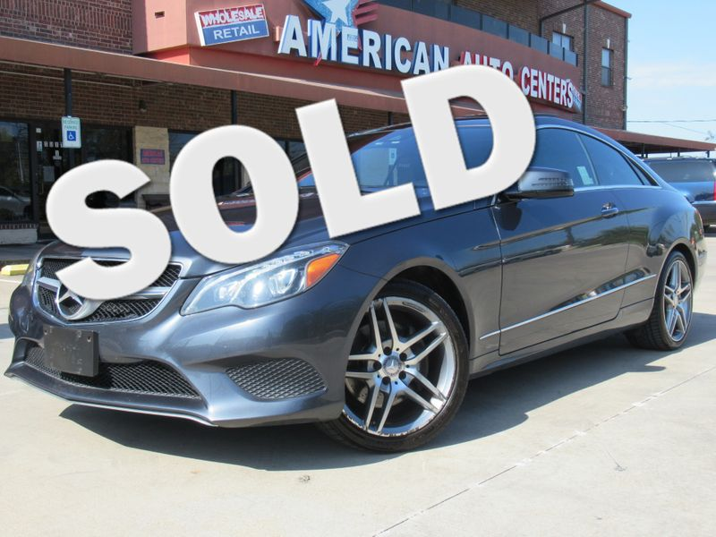 2014 Mercedes-Benz E 350 Coupe | Houston, TX | American Auto Centers in Houston TX