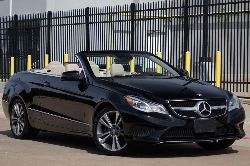 2014 Mercedes-Benz E 350 Convertible* Only 35k Mi* Nav* Bu Cam* Ez Finance*   Plano, TX   Carrick's Autos in Plano TX