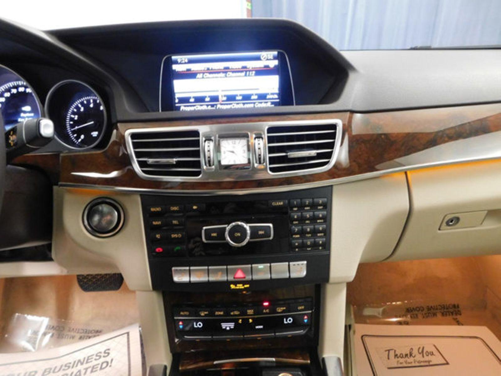 ... 2014 Mercedes Benz E Class 4dr Sedan E350 4MATIC City Ohio North Coast  Auto ...