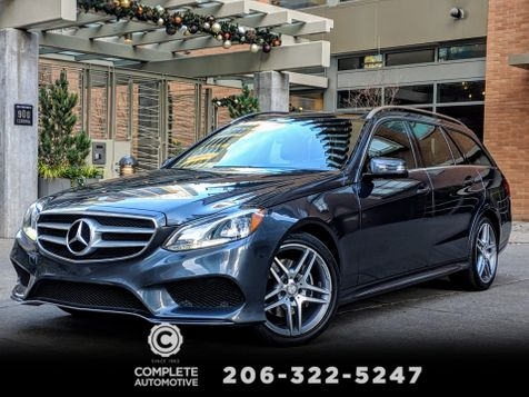 2014 Mercedes-Benz E350 4Matic Wagon All Wheel Drive Low Miles 1 Owner Sport Rear Camera Heated Pano Roof 3rd Seat in Seattle