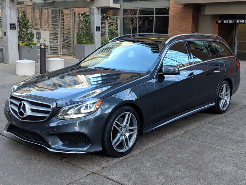 2014 Mercedes-Benz E350 4Matic Wagon All Wheel Drive Low Miles 1 Owner Sport Rear Camera Heated Pano Roof 3rd Seat  city Washington  Complete Automotive  in Seattle, Washington