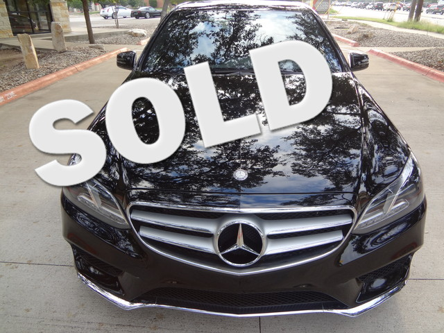2014 Mercedes-Benz E350 Sport 4Matic Austin , Texas 0