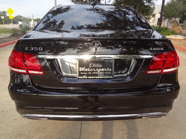 2014 Mercedes-Benz E350 Sport 4Matic Austin , Texas 6