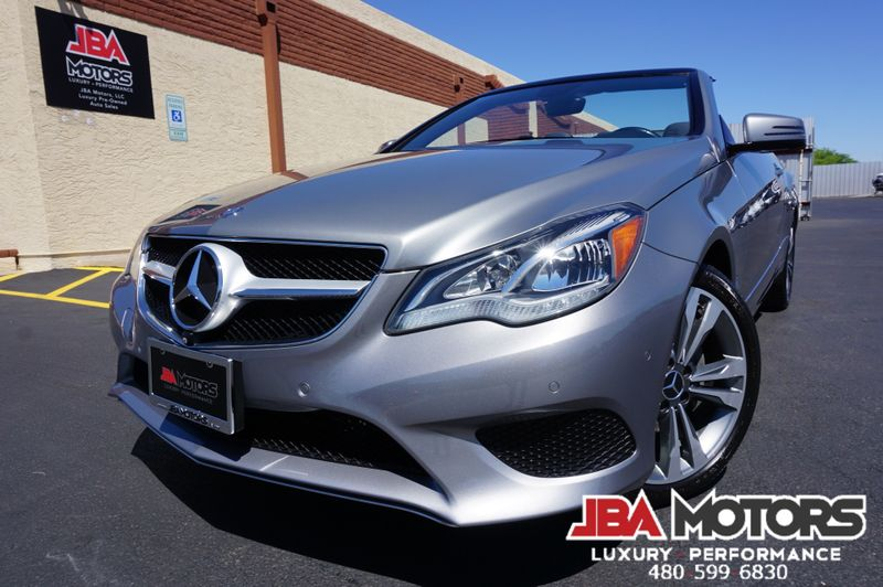 2014 Mercedes-Benz E350 E Class 350 Convertible ~ $66k MSRP 28k LOW MILES! | MESA, AZ | JBA MOTORS in MESA AZ