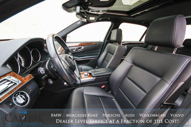 2014 Mercedes-Benz E350 Sport 4MATIC AWD Luxury Car w/Premium Pkg, Nav, Heated Seats, Moonroof & AMG Wheels in Eau Claire, Wisconsin 54703