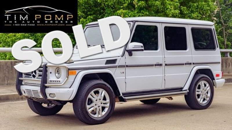 2014 Mercedes-Benz G 550    Memphis, Tennessee   Tim Pomp - The Auto Broker in Memphis Tennessee