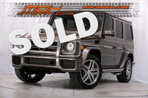 2014 Mercedes-Benz G 63 AMG - PA6 PACKAGE - DESIGNO   in Los Angeles