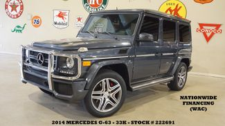 2014 Mercedes-Benz G 63 AMG SUNROOF,NAV,BACK-UP CAM,HTD/COOL LTH,23K in Carrollton TX, 75006