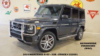 2014 Mercedes-Benz G 63 AMG SUNROOF,NAV,BACK-UP CAM,HTD/COOL LTH,23K in Carrollton, TX 75006