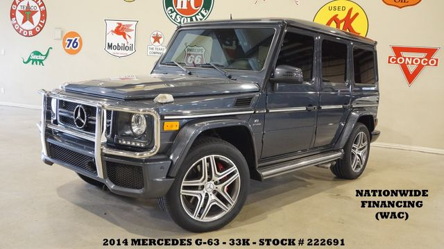 2014 Mercedes-Benz G 63 AMG SUNROOF,NAV,BACK-UP CAM,HTD/COOL LTH,23K