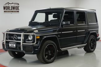 2014 Mercedes-Benz G63 EXTREMELY LOW MILES. RARE COLOR. OPTIONS! CARFAX! | Denver, CO | Worldwide Vintage Autos in Denver CO