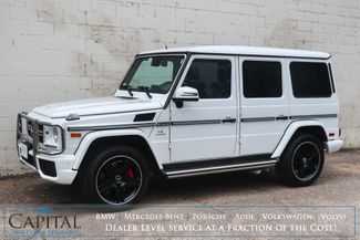 2014 Mercedes-Benz G-Wagon G63 AMG 4x4 V8 SUV with AMG Rims, Adaptive Cruise & Designo Interior in Eau Claire, Wisconsin 54703