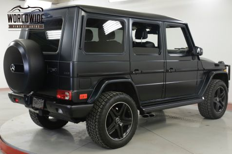 2014 Mercedes-Benz G63 LOW MILES. 4X4. FACTORY MATTE. LIFT. CARFAX.   | Denver, CO | Worldwide Vintage Autos in Denver, CO