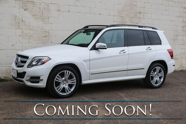 2014 Mercedes-Benz GLK350 4MATIC AWD Crossover w/Navigation, Panoramic Moonroof, Heated Seats & B.T. Audio