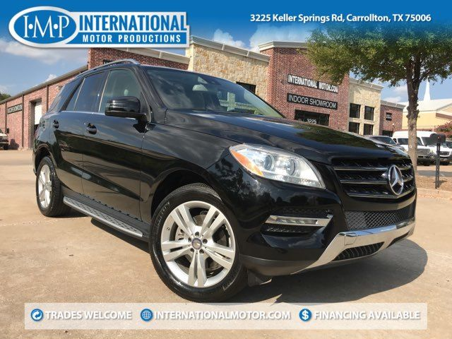 2014 Mercedes-Benz ML350 BlueTec One Owner