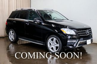 2014 Mercedes-Benz ML350 4MATIC AWD Luxury SUV w/Navigation, Heated in Eau Claire, Wisconsin