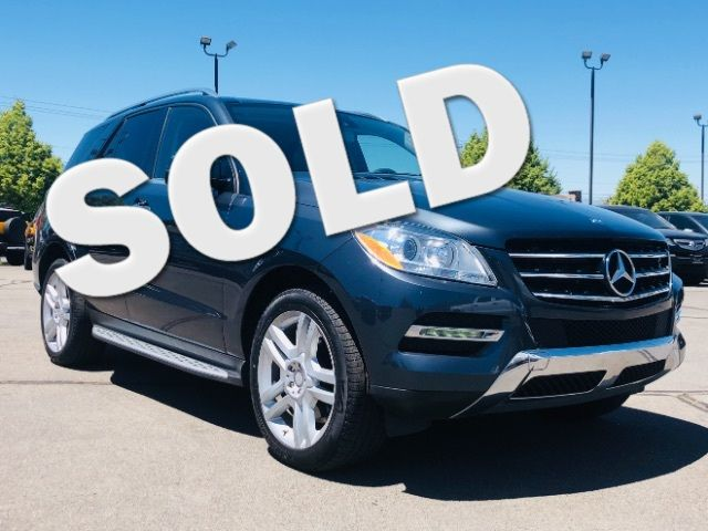 2014 Mercedes-Benz ML 350 ML350 4MATIC LINDON, UT 0