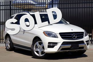 2014 Mercedes-Benz ML 350 P1 * Sport * NAVI * Driver Assist * KEYLESS * Roof Plano, Texas 0