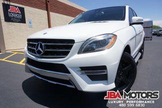2014 Mercedes-Benz ML550 ML Class 550 4Matic AWD Pano Roof Rear DVD 1 Owner   MESA, AZ   JBA MOTORS in Mesa AZ