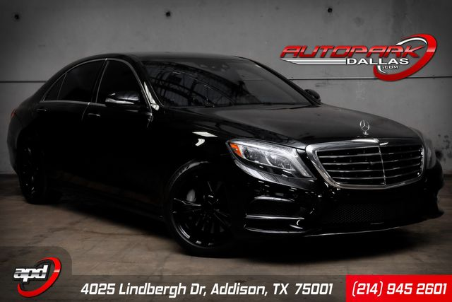 2014 Mercedes-Benz S 550 Rear Seat Package HARD LOADED