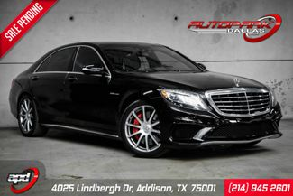 2014 Mercedes-Benz S 63 AMG w/ Rear Seat Package Tvs in Addison, TX 75001