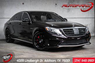 2014 Mercedes-Benz S 63 AMG Exec. Rear Seat Pkg, 3D Burmester & MORE in Addison, TX 75001