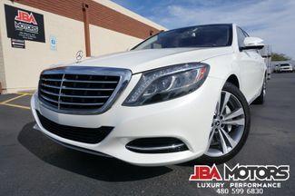 2014 Mercedes-Benz S550 S Class 550 Sedan Diamond White Rear Seat Pkg WOW | MESA, AZ | JBA MOTORS in Mesa AZ