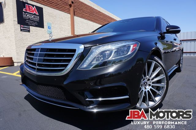 2014 Mercedes-Benz S550 S Class 550 Sedan ~ Highly Optioned Rear Seat DVD