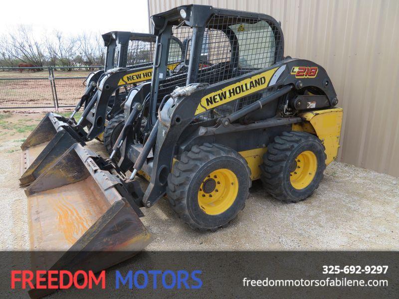 2014 New Holland L218 Skid Steer/ Loader | Abilene, Texas | Freedom Motors  in Abilene Texas