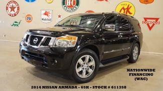 2014 Nissan Armada Platinum ROOF,NAV,REAR DVD,HTD LTH,CHROME WHLS,65K in Carrollton, TX 75006