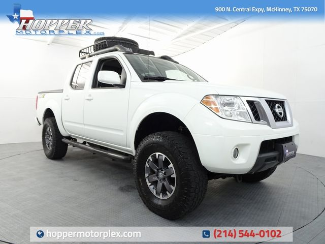 2014 Nissan Frontier PRO LIFT/WHEELS AND TIRES