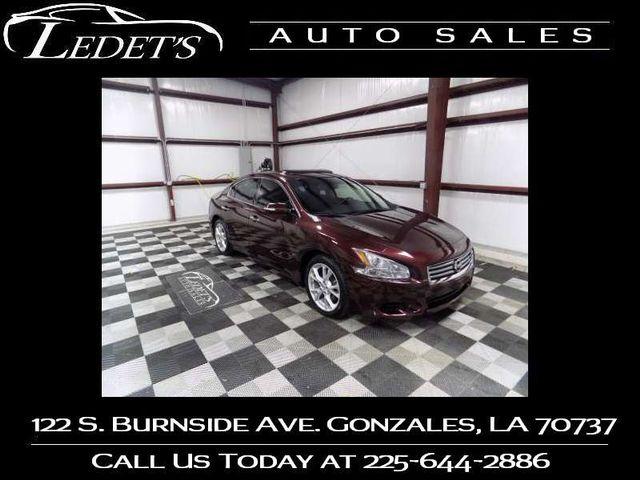2014 Nissan Maxima 3.5 SV - Ledet's Auto Sales Gonzales_state_zip in Gonzales