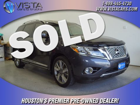 2014 Nissan Pathfinder Platinum in Houston, Texas