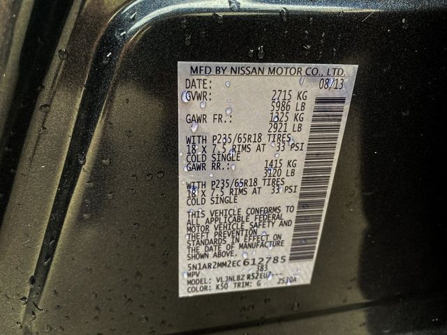 2014 Nissan Pathfinder S Madison, NC 37