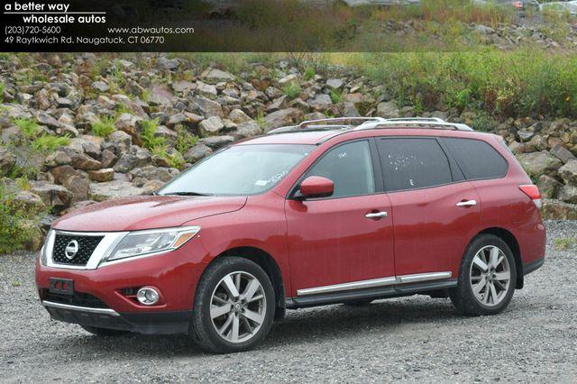 2014 Nissan Pathfinder Platinum 4WD Naugatuck, Connecticut