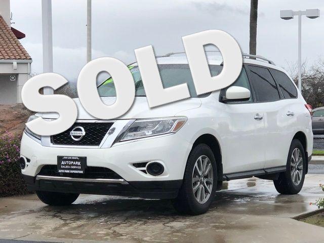 2014 Nissan Pathfinder SV Hybrid   San Luis Obispo, CA   Auto Park Sales & Service in San Luis Obispo CA