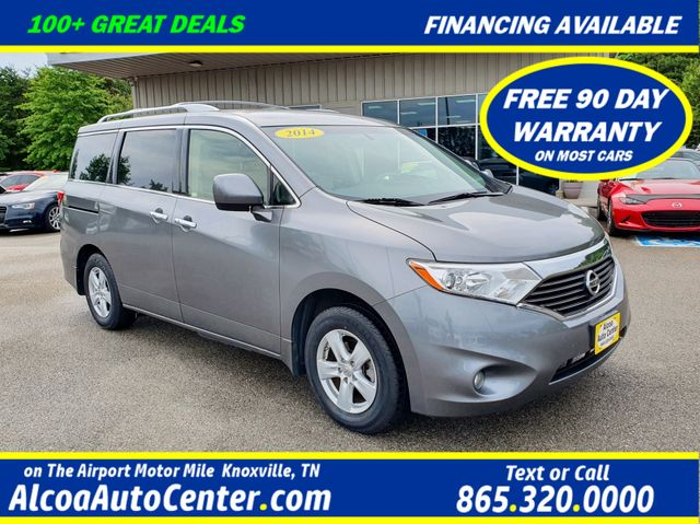 2014 Nissan Quest SV w/ Leather/DVD/Power Sliding Doors/Alloy Wheels