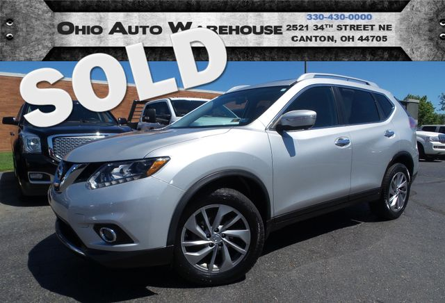 2014 Nissan Rogue SL Navi Pano Roof 1-Owner Clean Carfax We Finance | Canton, Ohio | Ohio Auto Warehouse LLC in  Ohio