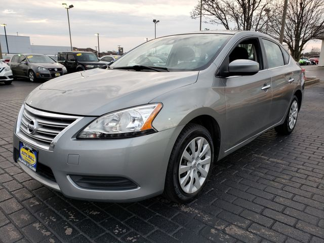 2014 Nissan Sentra S | Champaign, Illinois | The Auto Mall of Champaign in Champaign Illinois
