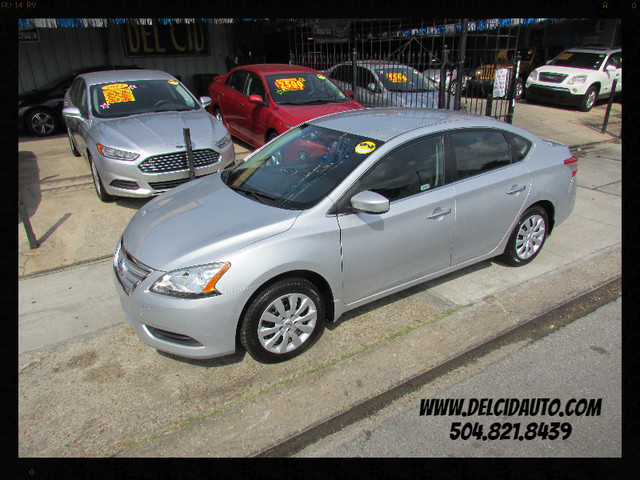 2014 Nissan Sentra SV, Gas Saver! Low Miles! Factory Warranty!