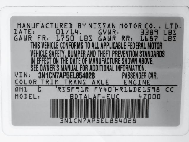 2014 Nissan Versa S Burbank, CA 23