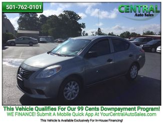 2014 Nissan Versa S | Hot Springs, AR | Central Auto Sales in Hot Springs AR