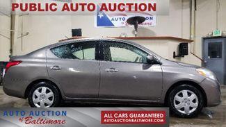 2014 Nissan Versa SV   JOPPA, MD   Auto Auction of Baltimore  in Joppa MD
